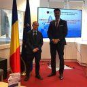 """Lansarea studiului """"Provocări actuale în domeniul securității cibernetice"""" la Reprezentanța Permanentă a României pe lângă UE"""